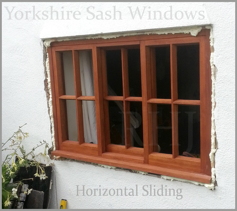 Timber Paned Windows