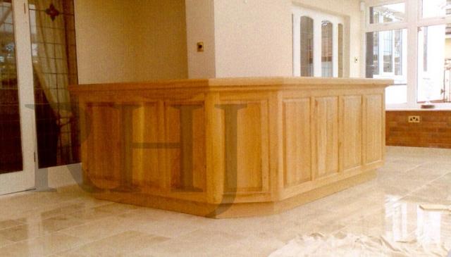 Large interior furniture piece