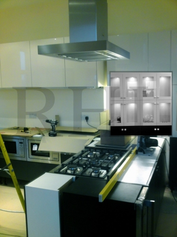 Hand crafted kitchen units Southport joinery services