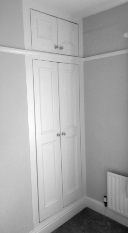Interior cupboard doors