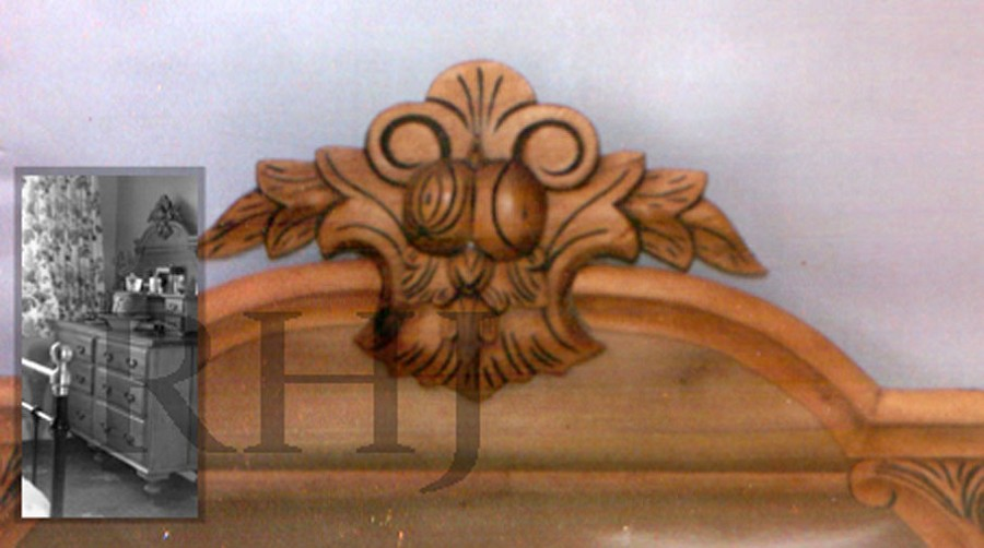 Hand carving furniture decoration