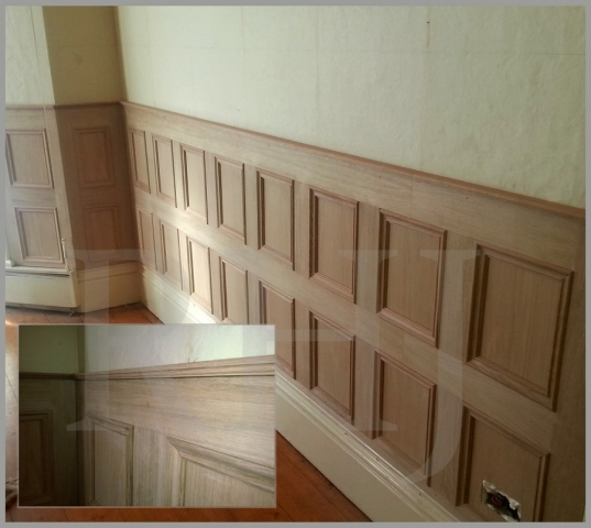 Fitted timber walls Southport Joiner
