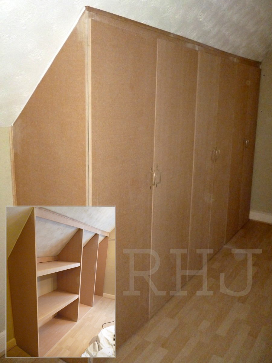 Hand made timber fitted wardrobes Joiner Merseyside