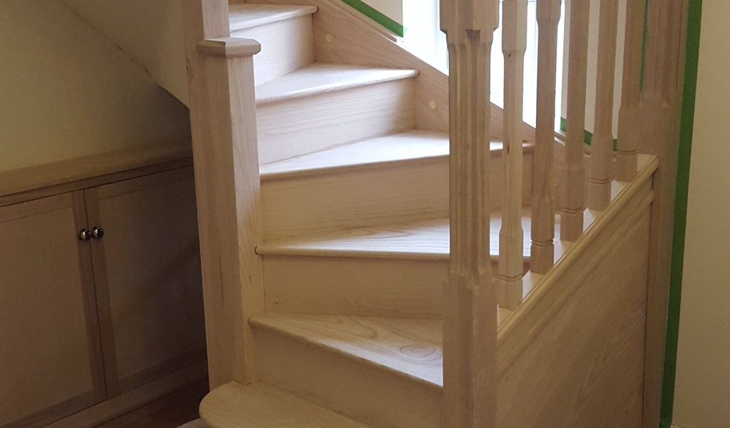 How to revamp repair and replace your staircase on a budget ross hopgood joinery - Refurbish stairs budget ...